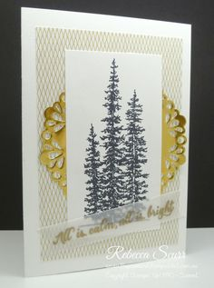 12 Weeks of Christmas blog series - Wonderland - Winter Wonderland DSP - Rebecca Scurr - Independent Stampin' Up! demonstrator - www.facebook.com/thepaperandtampaddict