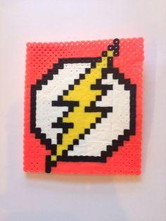 Perler Bead Flash Gordon Logo