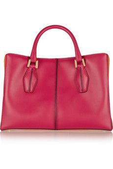 Tod's D-Cube Shopping small leather tote | NET-A-PORTER