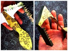 Dollar Store Crafts » Blog Archive » Make Paper Shoe Favor Boxes