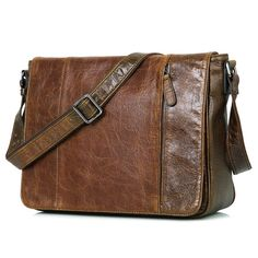 f80c2d976ca7 Image of Leather Messenger Bag Laptop MacBook Bag Cow Leather New Year  School Bag--