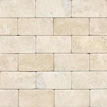Check out this Daltile product: Baja Cream (Tumbled) - Inspiring Ideas through Real Use.