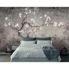 Living Room Murals, Bedroom Murals, Living Room Bedroom, Wall Murals, Bedroom Decor, Wall Decor, Bed Room, Vintage Wallpaper, Home Wallpaper