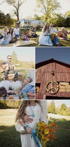 Art hippie wedding wedding-ideas