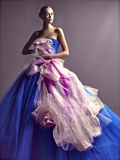 Frida Gustavsson, Christian Dior Couture  Photographer: Patrick Demarchelier