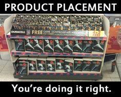 Picture of product placement funny