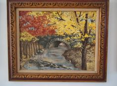 Check out this item in my Etsy shop https://www.etsy.com/listing/223650899/stone-bridge-in-autumn-hunterdon-county
