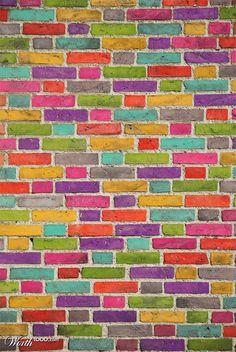 Andere (Gekleurd) Brick In The Wall - Worth1000 Wedstrijden