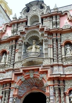 Iglesia La Merced, Lima Centro, Perú.