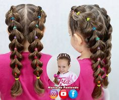 Audrina Hair, Canal No Youtube, Little Princess, Girl Hairstyles, Erika, Hair Styles, Instagram, Outfits, Beauty