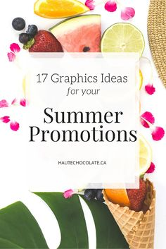 It's hard to believe that another summer is upon us! For many online  businesses this can be a slower time of year as people are spending less  time in front of a screen and more time outside.  If you're feeling your revenues dip as the temperatures soar,you can boost  sales during the summer months through promotions and special offers.  In today's post I've got some examples of summertime promotion graphics  that you can create to get people excited for your offers.  All of these…