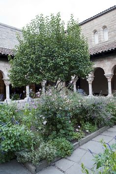 The Medieval Garden at The Cloisters, New York City | Flickr - Photo Sharing!