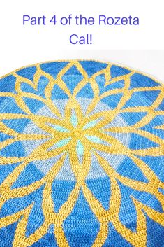 Part 4 of the Rozeta & the end of the tapestry crochet section! Crochet Mandala, Tapestry Crochet, Crochet Afghans, Crochet Blankets, Thread Crochet, Diy Crochet, Crochet Crafts, Crochet Tutorials, Crochet Designs