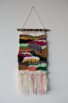 Weaving by Jackie Dives.