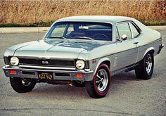1969 Chevrolet Nova SS my dream car Old Muscle Cars, Chevy Muscle Cars, American Muscle Cars, Chevy Nova, Nova Car, Chevy Ss, Chevrolet Apache, Gp Moto, Automobile