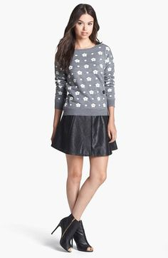 Jessica Simpson 'Bellis' Intarsia Sweater available at #Nordstrom