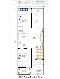 New house plans with detail, two bedrooms house map with detail and images Welcome to Dhiman Construction Work. Friends, today I have brought some new house plans for you. 2bhk House Plan, Narrow House Plans, Model House Plan, Simple House Plans, House Layout Plans, Duplex House Plans, Bungalow House Plans, Bungalow House Design, Bedroom House Plans
