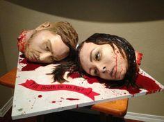 Sideserf Cake Studio's horror wedding cake
