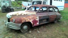 Ask The Man Who Owns One: 1949 Packard Wagon - http://barnfinds.com/ask-the-man-who-owns-one-1949-packard-woody-wagon/