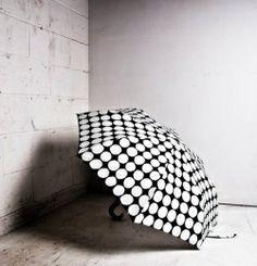 Classic polka dot umbrella by marimekko. Mini Umbrella, Under My Umbrella, Connect The Dots, Marimekko, Yorkie, Fashion Accessories, Polka Dots, Umbrellas, Contemporary
