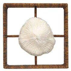 Palecek Shadow Box Mushroom Coral PK-1671-77