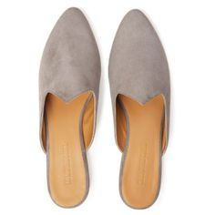 Le Monde Beryl's Grey Suede Venetian Mules are handcrafted in Italy. Each pair is made with the finest materials and a memory foam cushioned leather insole. Venetian, Memory Foam, Slippers, Luxury, Grey, Leather, Stuff To Buy, Shopping, Shoes