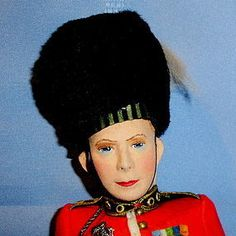 Alpha Farnell King George VI Felt Portrait Doll (item #1274486)  #dollshopsunited