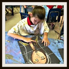 Modigliani inspired portraits