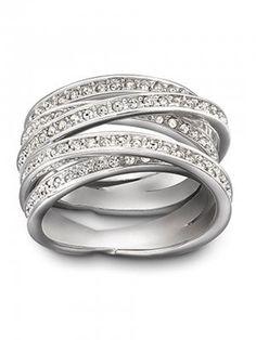 Swarovski Spiral Ring 1156304