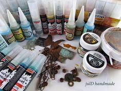 julD handmade: Περί σκουριάς