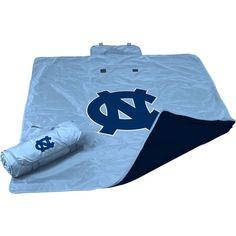 North Carolina Tar Heels All Weather Blanket, Team