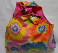 Retro Purse Tye Dye Flowers by bagsbyhags45 on Etsy, $7.00