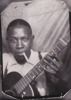 """hellhoundonmytrail: """" Robert Johnson (second known photo) Photo Booth Self-Portrait (early 1930's) """""""