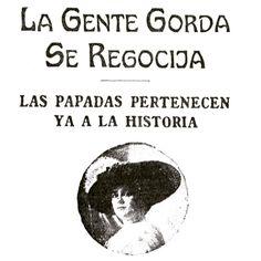 La gente gorda se regocija #1910 #buenosaires #argentina #vintage #ads