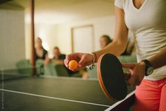 House Party: Table Tennis Match by brianmcentire | Stocksy United
