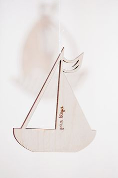 Wooden baby mobile / Nursery mobile / by GeraBloga