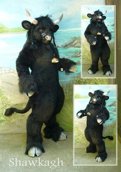 I really like this. Not a lot of people have cow fursuits. It's very unique!