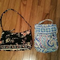 Sale!! Vera Bradley Bundle Deal!!!!! What a great deal for two new items,  priced low for the Vera Bradley Lovers!  One is a purse and the other is a lunch bag. Vera Bradley Bags Shoulder Bags