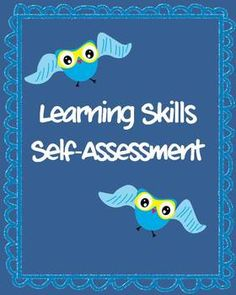 Time for progress reports: Learning Skills Self-Assessment Questionnaire - Grades 2-4 $2
