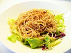 Tuna and Garlic Pasta