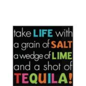 Tequila Beverage Napkins 16ct - Cocktail Party - Fiesta Theme Party - Theme Parties - Categories - Party City
