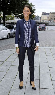 PRINCESS SOFIA OF SWEDEN---Princesses in Jeans: Here's How Royals Wear Their Denim