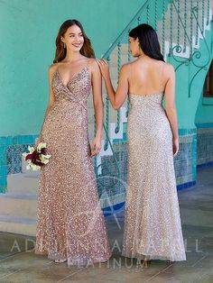 Bridesmaid Dresses, Prom Dresses, Formal Dresses, Wedding Dresses, Drape Gowns, Adrianna Papell, Every Woman, Strapless Dress, Sequins