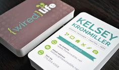Wired Life Business Card Design