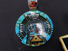 Navajo inlay @ Perry Null Trading Co., Gallup, NM