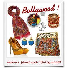 j'ai du style avec le miroir fantaisie Bollywood