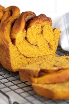 Cinnamon Swirl Pumpkin Yeast Bread - Seasons and Suppers Breakfast Dessert, Dessert Drinks, Best Breakfast, Breakfast Time, Yeast Bread Recipes, Custard Recipes, Unique Desserts, Suppers, Chocolate Desserts