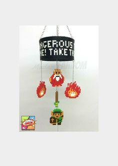 Zelda Hanging Mobile Geek Decor from MadamFANDOM. *original mobile design by #MadamFANDOM*