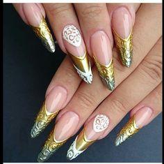 Cristal nails gel art