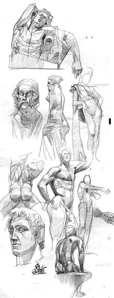 omg :0 Sketches by Otto Schmidt